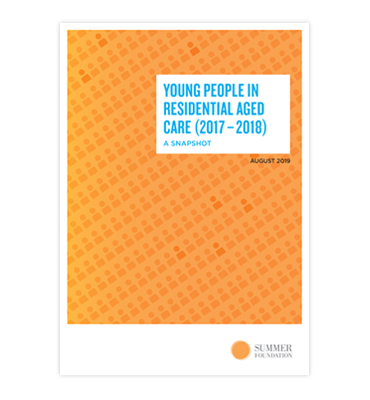 Young People in residential aged care